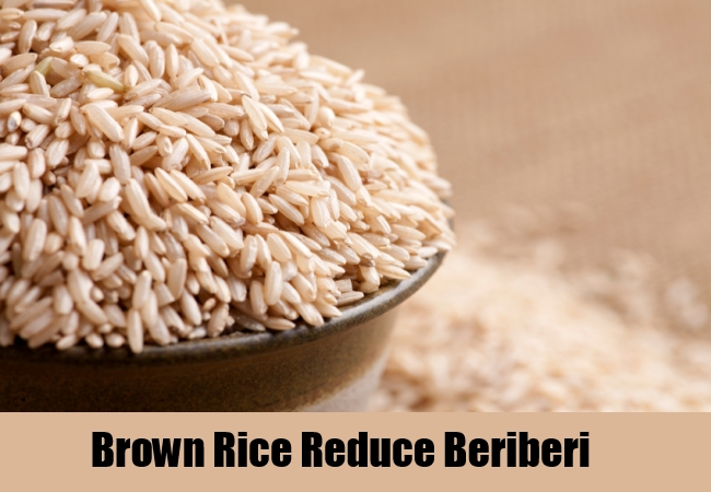 Brown Rice Reduce Beriberi