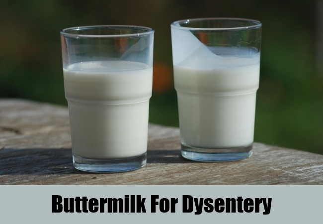 Buttermilk For Dysentery