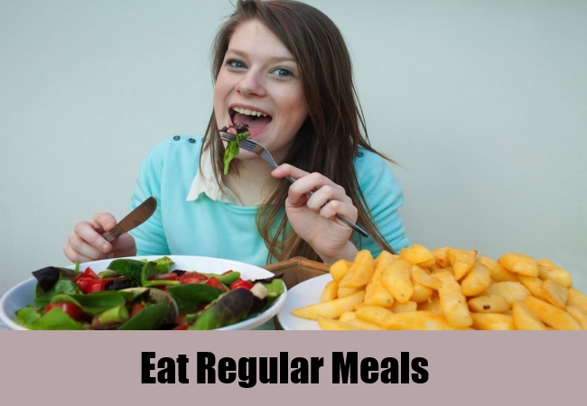 Eat Regular Meals