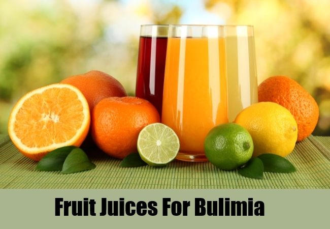 Fruit Juices For Bulimia