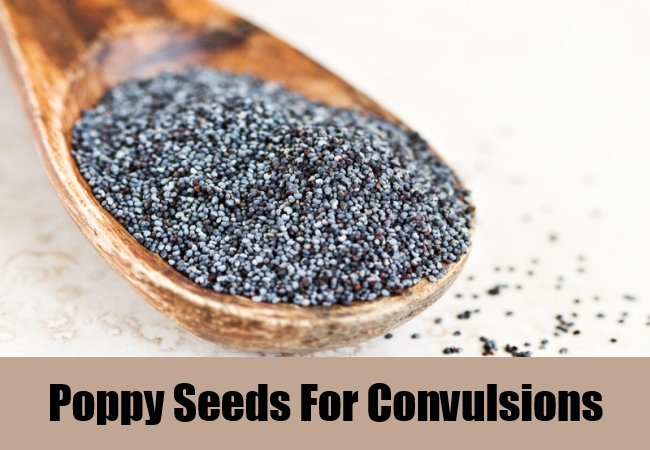 Poppy Seeds For Convulsions