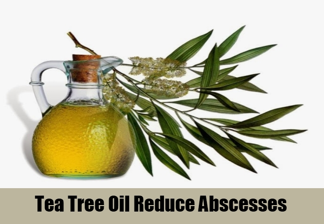 Tea Tree Oil Reduce Abscesses