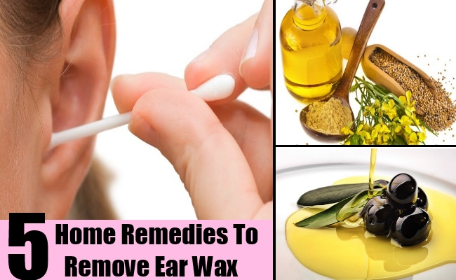 5 Home Remedies To Remove Ear Wax
