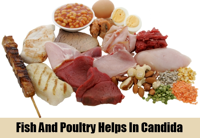 Fish And Poultry Helps In Candida