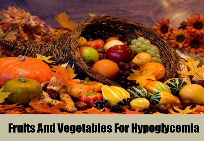 Fruits And Vegetables For Hypoglycemia