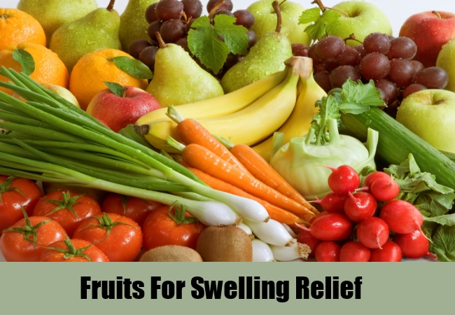Fruits For Swelling Relief