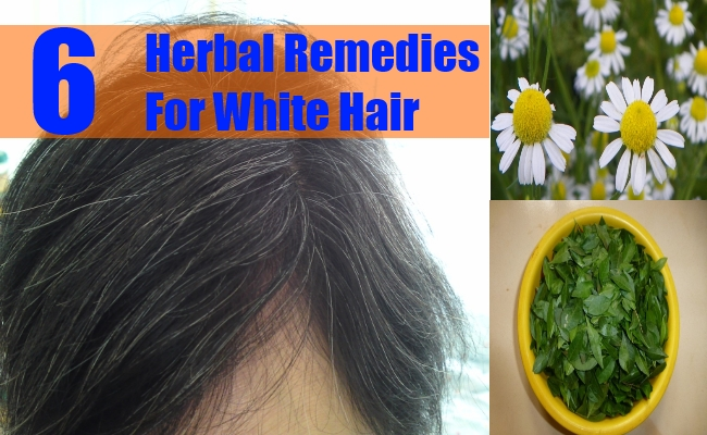 Herbal Remedies For White Hair