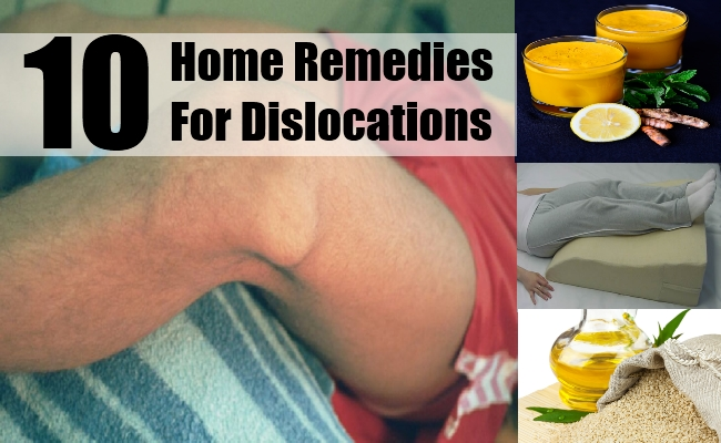 Home Remedies For Dislocations