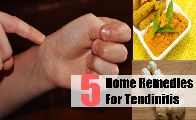 Home Remedies For Tendinitis