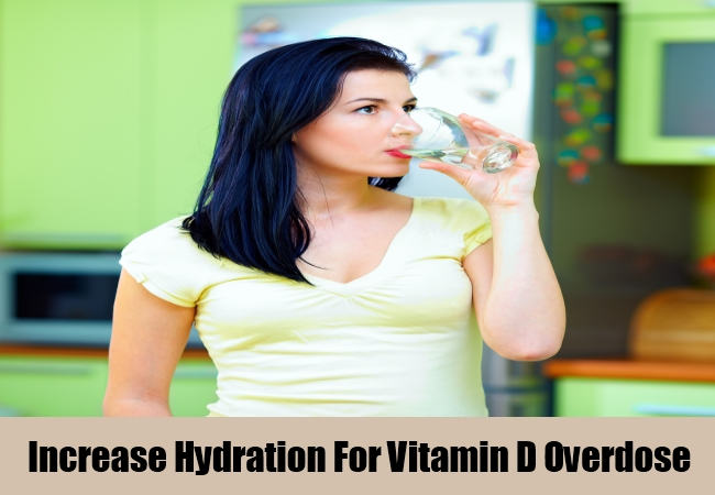 Increase Hydration For Vitamin D Overdose