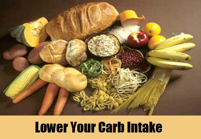 Lower Your Carb Intake