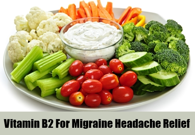 Vitamin B2 For Migraine Headache Relief