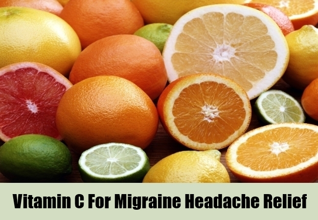 Vitamin C For Migraine Headache Relief