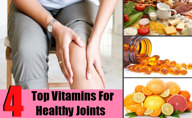 4 Top Vitamins For Healthy Joints