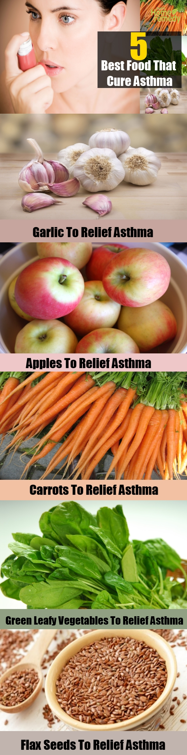 5 Best Food That Cure Asthma
