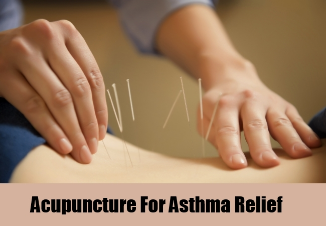 Acupuncture For Asthma Relief