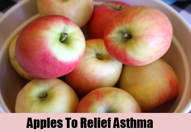 Apples To Relief Asthma