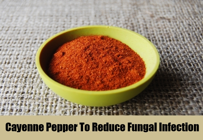 Cayenne Pepper To Reduce Fungal Infection