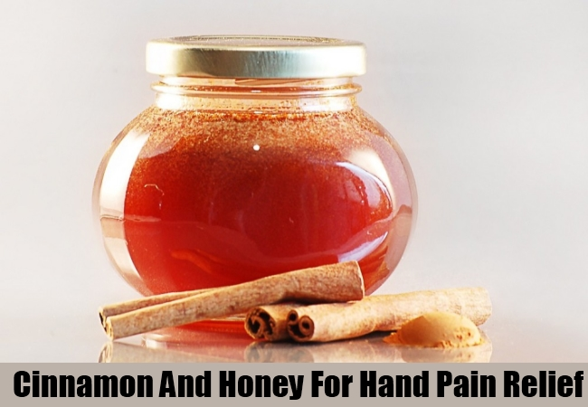 Cinnamon And Honey For Hand Pain Relief