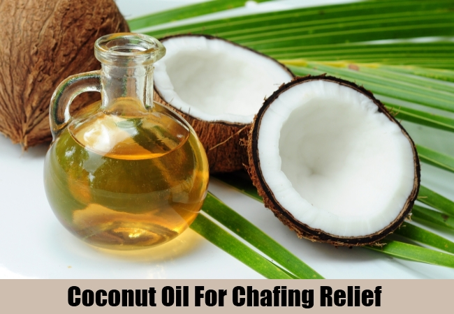Coconut Oil For Chafing Relief