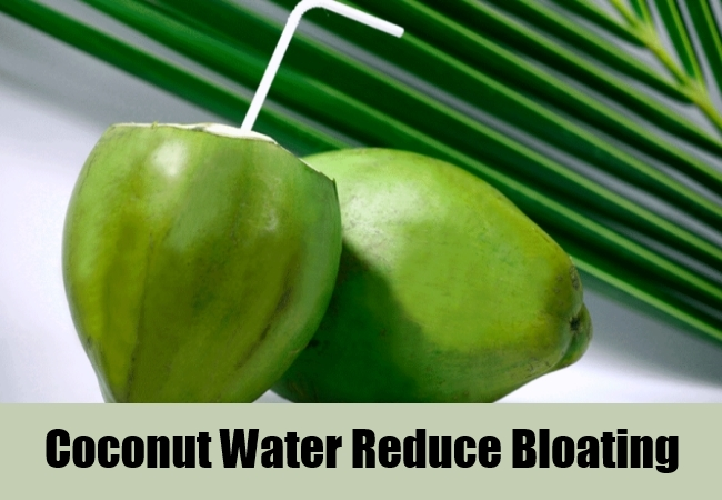 Coconut Water Reduce Bloating