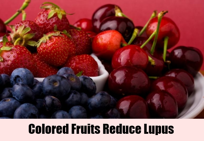 Colored Fruits Reduce Lupus