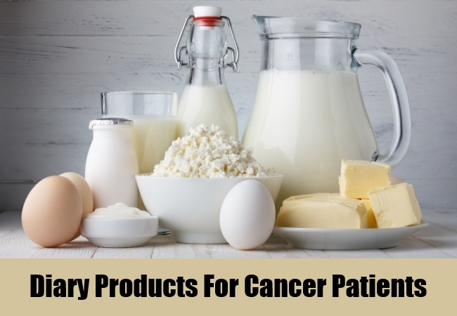 Diary Products For Cancer Patients