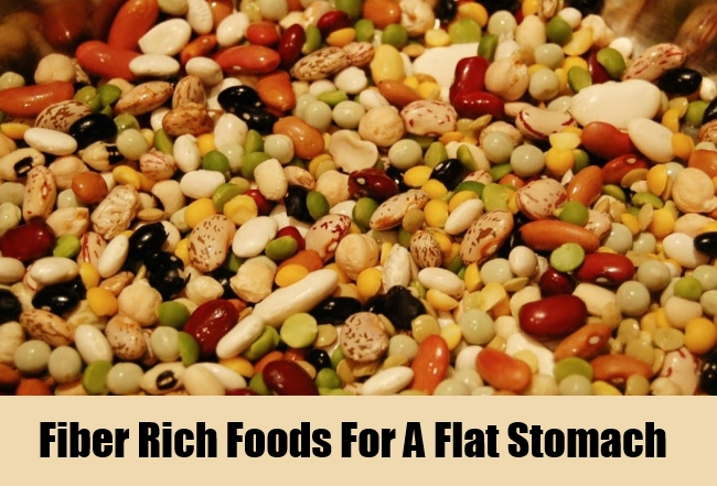 Fiber Rich Foods For A Flat Stomach