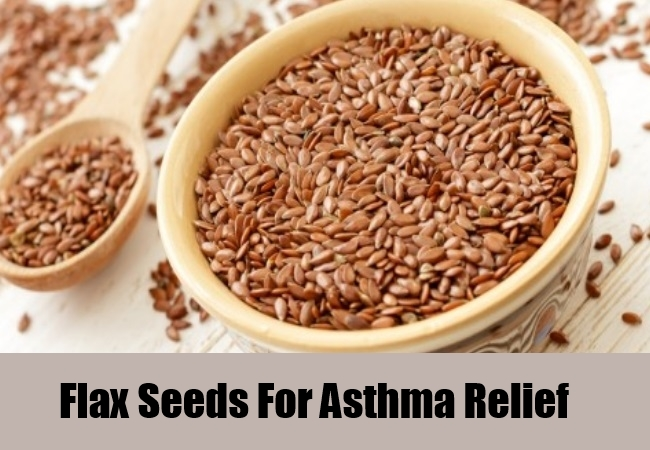 Flax Seeds For Asthma Relief