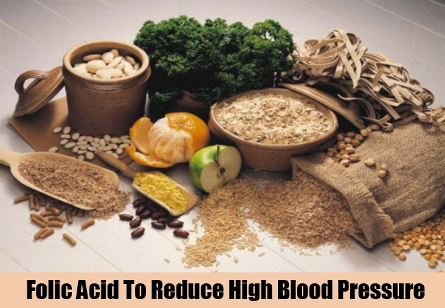 Folic Acid To Reduce High Blood Pressure