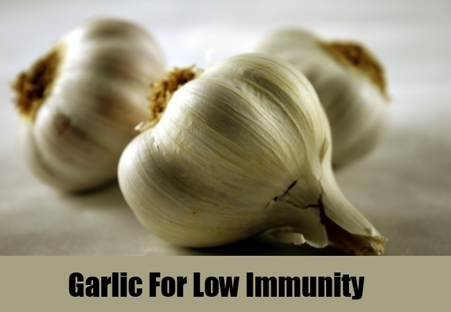 Garlic For Low Immunity