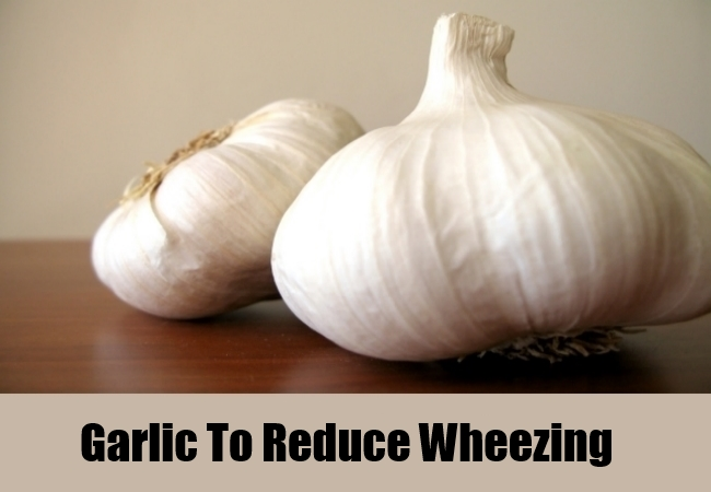 Garlic To Reduce Wheezing