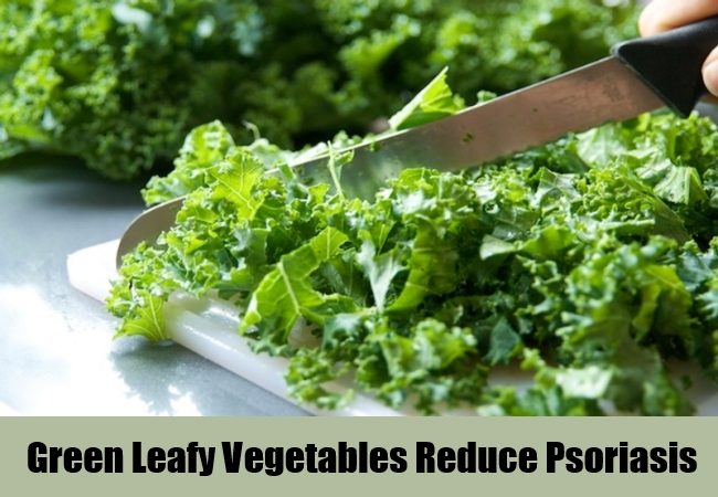 Green Leafy Vegetables Reduce Psoriasis