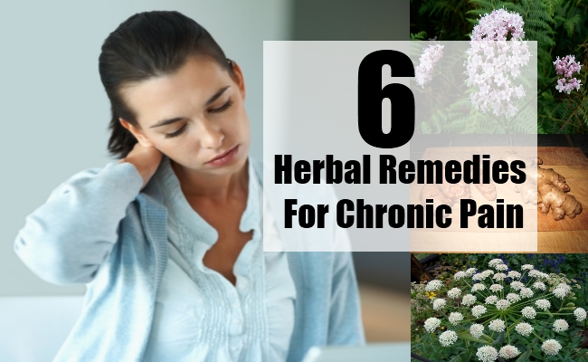Herbal Remedies For Chronic Pain