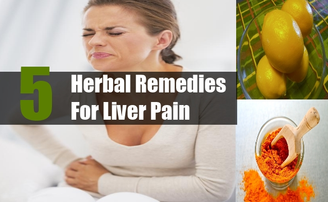 Herbal Remedies For Liver Pain