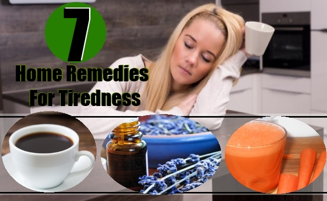 Home Remedies For Tiredness