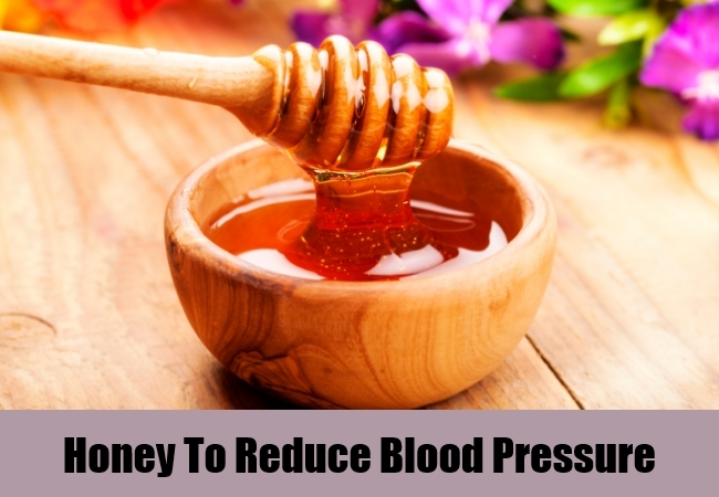 Honey To Reduce Blood Pressure