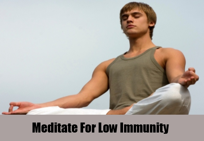Meditate For Low Immunity