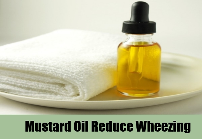 Mustard Oil Reduce Wheezing
