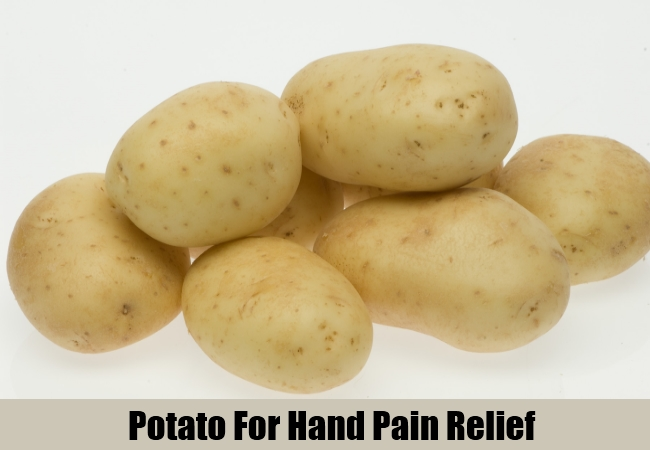 Potato For Hand Pain Relief