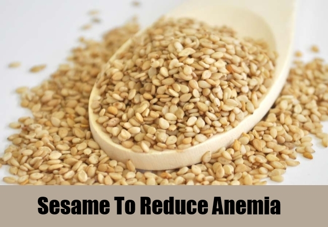 Sesame To Reduce Anemia