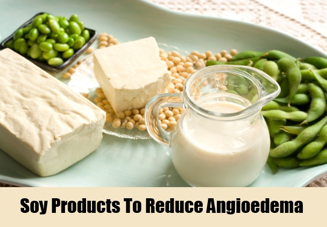 Soy Products To Reduce Angioedema