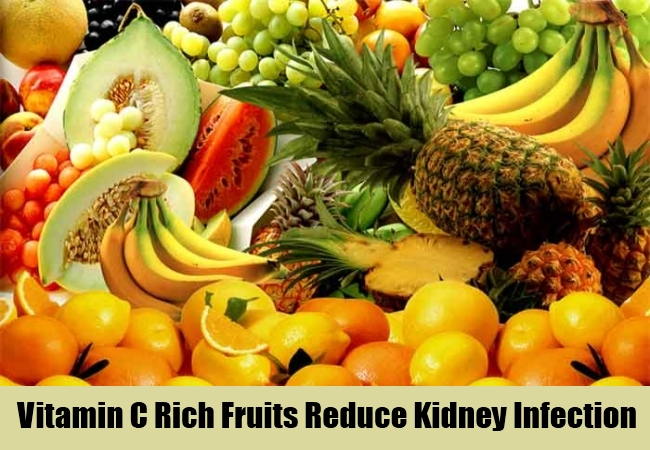 Vitamin C Rich Fruits Reduce Kidney Infection