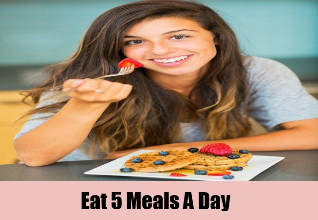 Eat 5 Meals A Day
