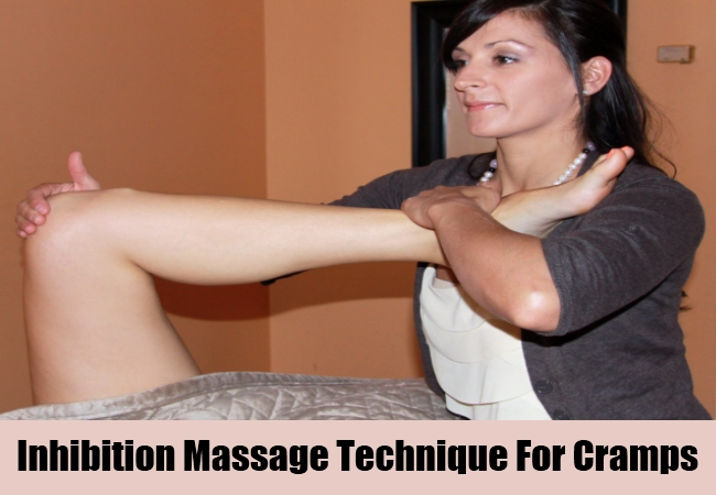 Inhibition Massage Technique For Cramps