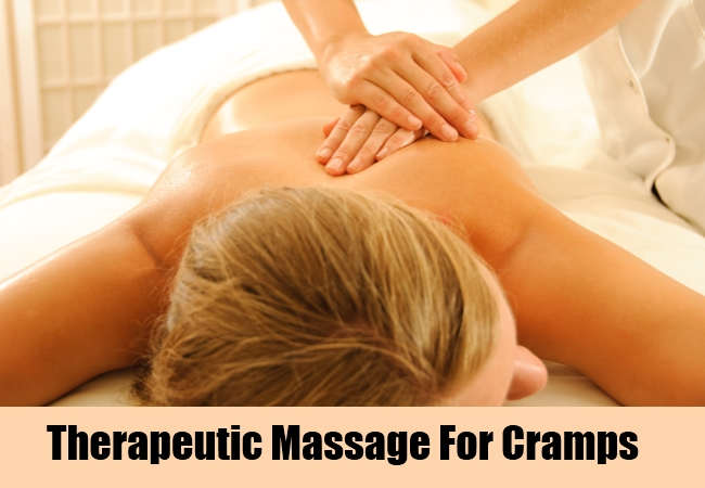 Therapeutic Massage For Cramps