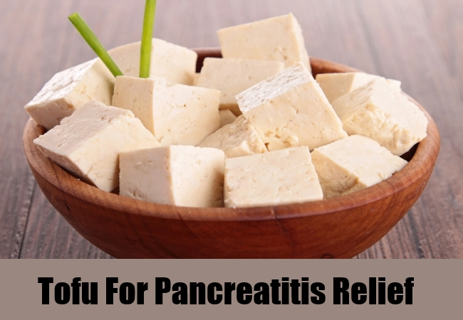 Tofu For Pancreatitis Relief