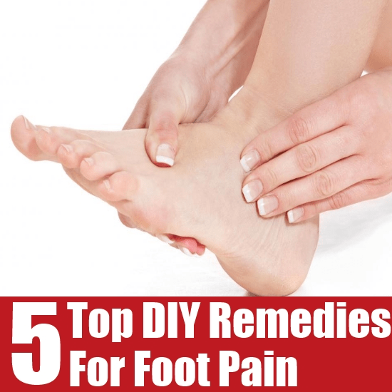 DIY Remedies For Foot Pain