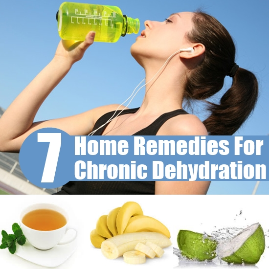 Home Remedies for Chronic Dehydration