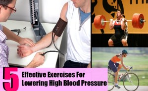 5 Most Effective Exercises For Lowering High Blood Pressure